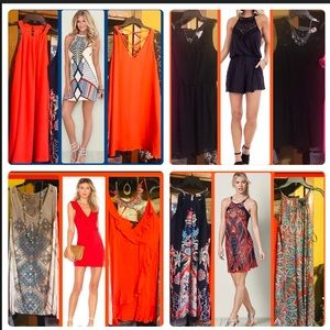 Dresses & Skirts - BIG Bundle of 7 Sassy Summer Dresses & 1/ Romper